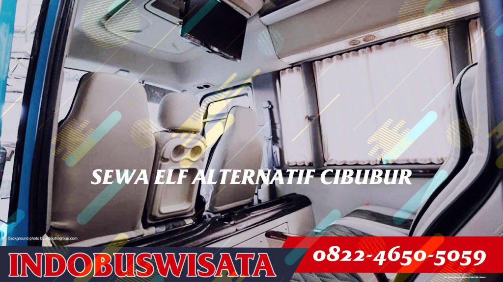 002 Wisata Dengan Sewa Elf Alternatif Cibubur - Interior 2020 - Indobuswisata