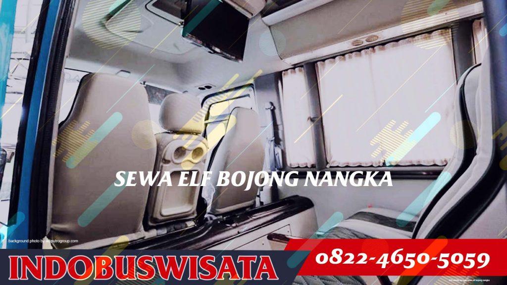 008 Wisata Dengan Sewa Elf Bojong Nangka Interior 2020 Indobuswisata