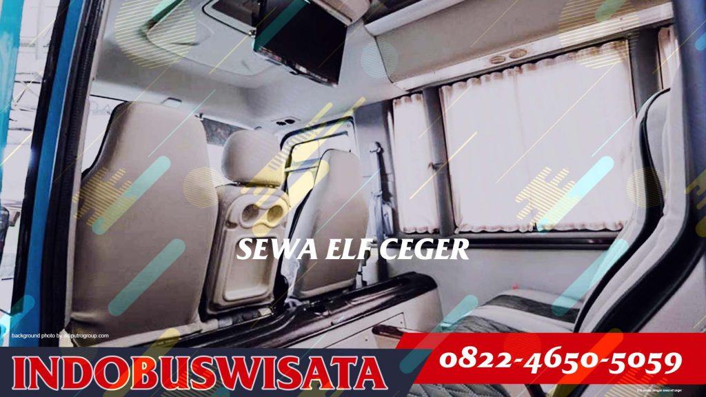 010 Wisata Dengan Sewa Elf Ceger Interior 2020 Indobuswisata