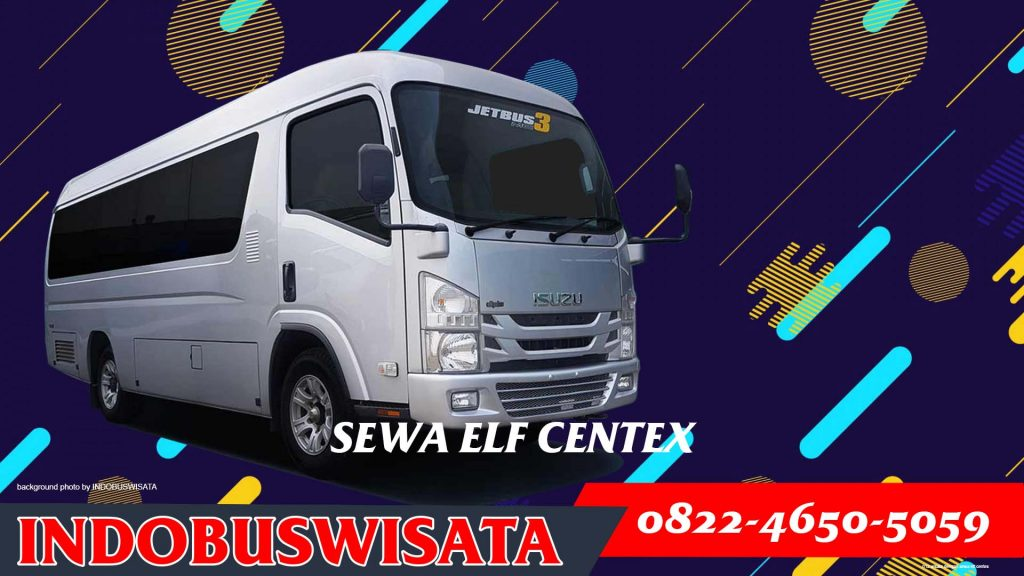 012 Wisata Dengan Sewa Elf Centex Exterior 2020 Indobuswisata