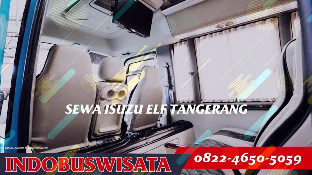 Destinasi Wisata Dengan Sewa Elf Tangerang - Interior 2020 - Indobuswisata