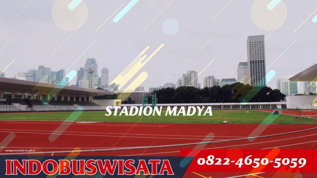 Destinasi Wisata Ke Gelora Bung Karno Dengan Bus - Stadion Madya - Indobuswisata