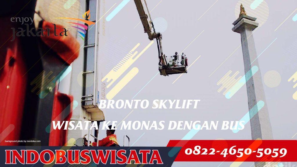 Destinasi Wisata Monas - Bronto Skylift - Indobuswisata