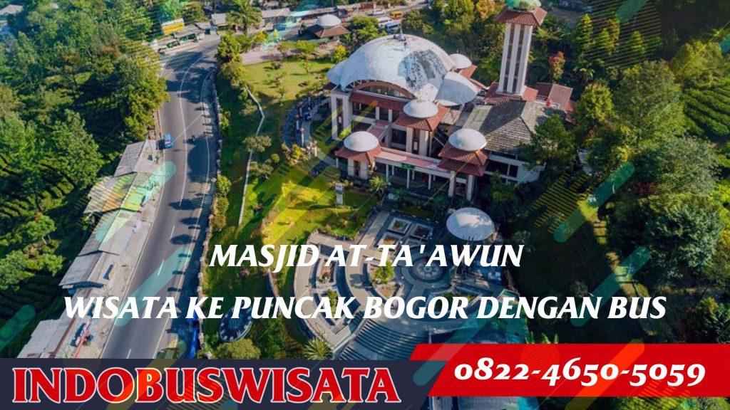 Destinasi Wisata Puncak Dengan Bus - Masjid At-Ta'awun - Indobuswisata