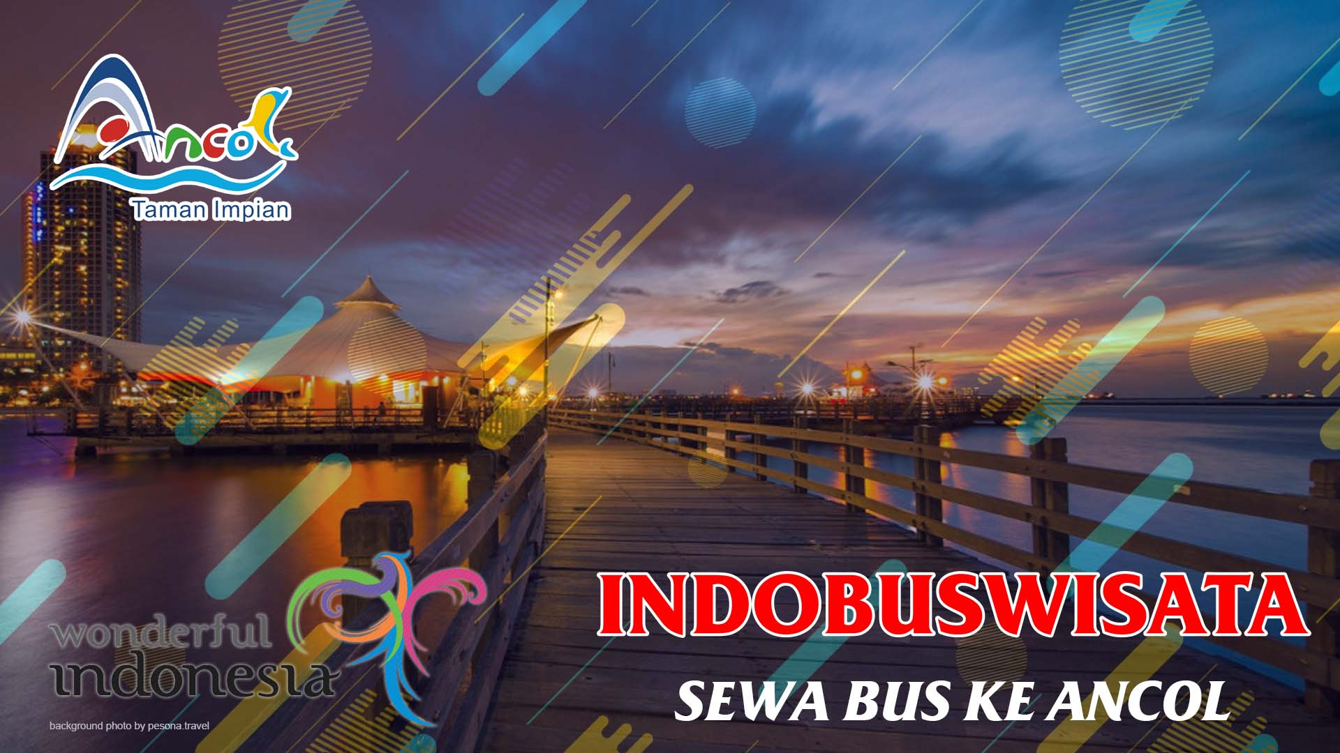 Sewa Bus Ke Ancol - Indobuswisata