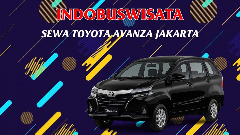 Sewa Toyota Avanza Di Jakarta - Indobuswisata