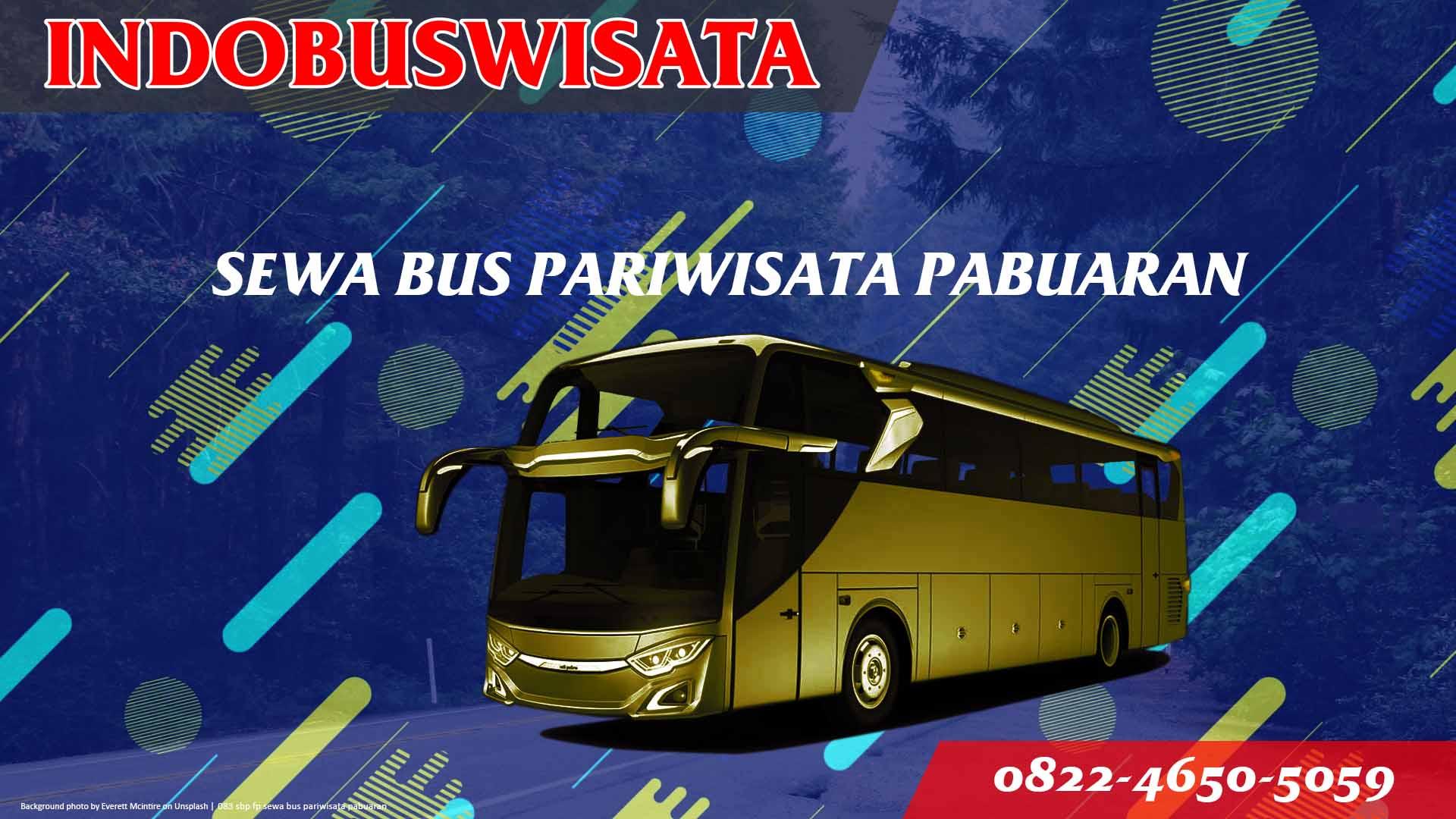 083 Sbp Fp Sewa Bus Pariwisata Pabuaran Indobuswisata