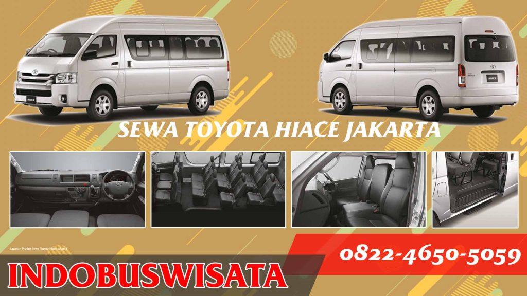 Sewa Hiace Jakarta Poster Indobuswisata