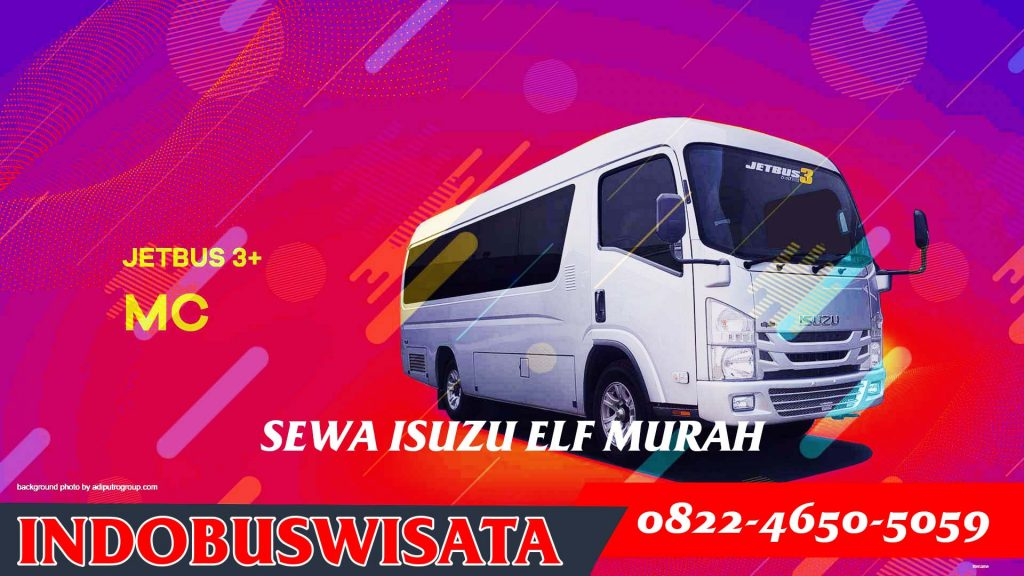 001 Sewa Elf Murah Elf Jetbus Adiputro Mc 01 Indobuswisata