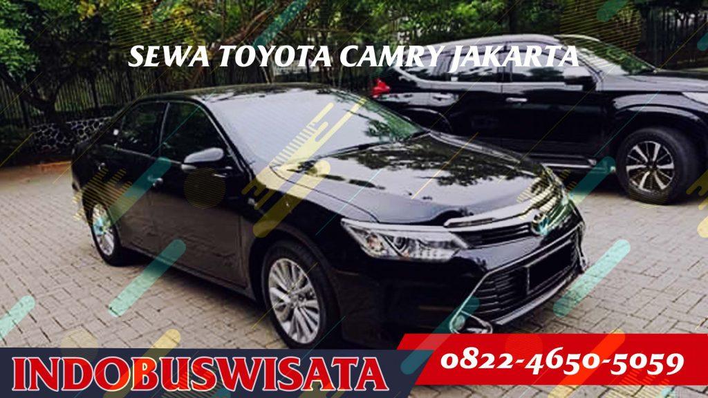 Sewa Toyota Camry - Exterior - Indobuswisata