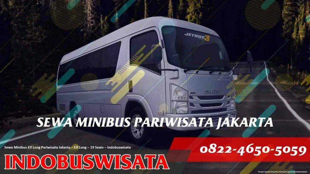 Sewa Minibus Isuzu Elf Long Jakarta – Sewa Bus Pariwisata – Elf Long 19 Seats Exterior