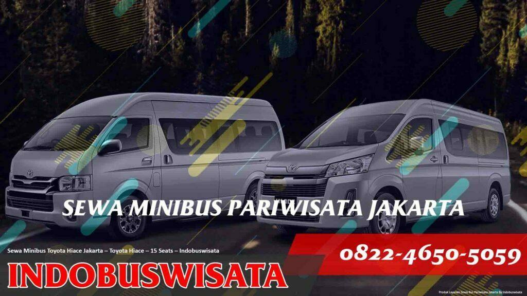 Sewa Minibus Toyota Hiace Jakarta – Sewa Bus Pariwisata – Toyota Hiace – 15 Seats – Fp